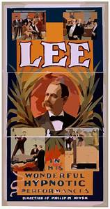 Lee In His Wonderful Hypnotic Performances Clip Art at ...