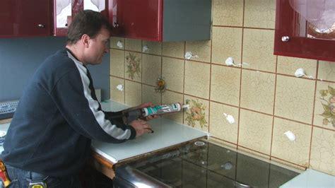 rhabiller sa cuisine en plaques de verre