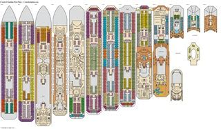 Carnival Splendor Deck Plans Printable by Carnival Cruise Ship Blueprints New Punchaos