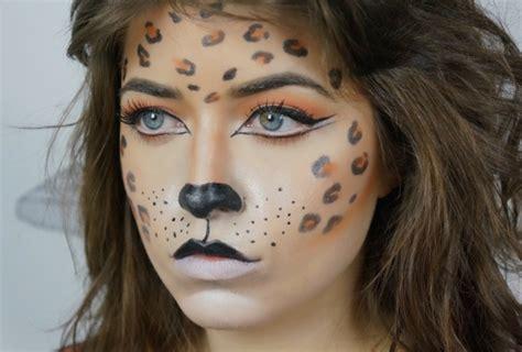 Mit Diesem Tollen Leoparden Make Up Werden Sie Im Nu Zur