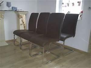 Stühle Esszimmer Leder Braun : 6er set stuhl esszimmerstuhl stuehle leder braun freischwinger novel ebay ~ Markanthonyermac.com Haus und Dekorationen