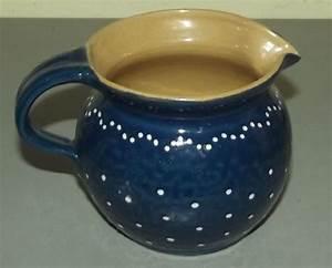 Geschirr Blau Weiß : milchkrug b rgel alt b rgeler t pferware blau wei krug kleine punkte dunkle gl ebay ~ Markanthonyermac.com Haus und Dekorationen