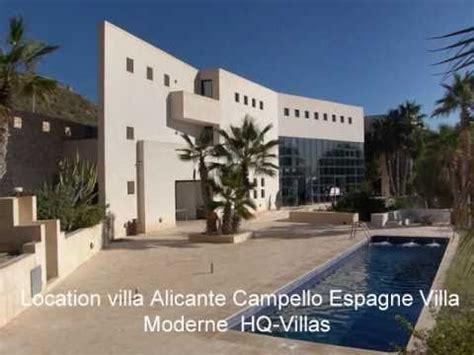 villa de luxe alicante espagne villa moderne et design