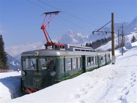 le tramway du mont blanc transportrail le webmagazine ferroviaire