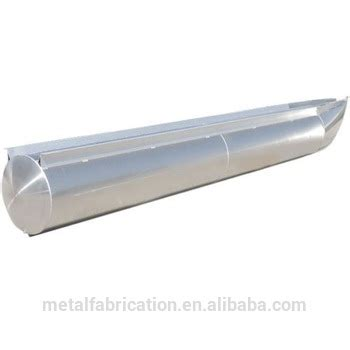 Aluminum Pontoon Tubes For Sale by Floating Aluminium Pontoon Boat Log Tubes 18 Foot X 25