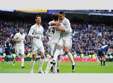 R Madrid 2 1 Malaga Match Report & Highlights