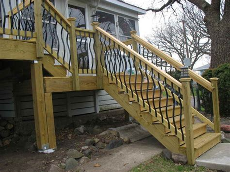 stairs the right steps on building deck stair railing how to build steps for a deck