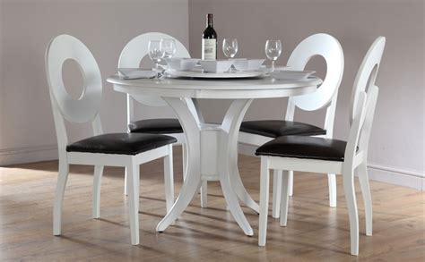 White Round Kitchen Table And Chairs  Decor Ideasdecor Ideas