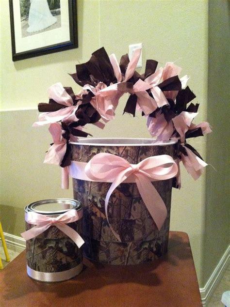 Pink Camo Bathroom Decor by Pink Camo Decorations Buckets Graduation