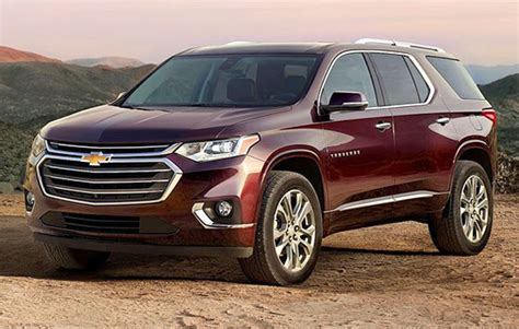 2019 Chevy Traverse Specs, Review And Price  Best Toyota