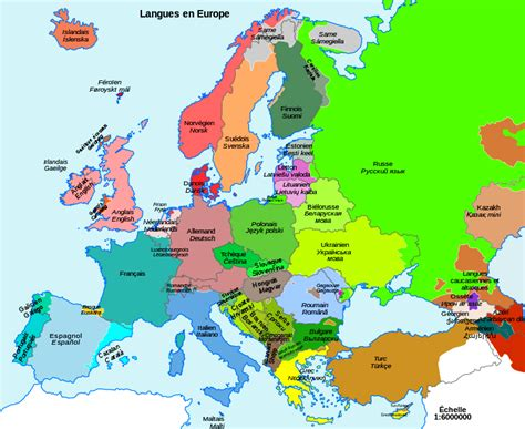 modern linguistic map of europe indo european languages map