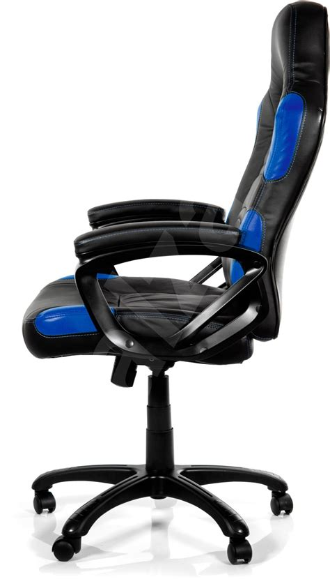 arozzi enzo blue gaming chair alzashop