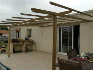 construction pergola en bois eric 233 co bricole