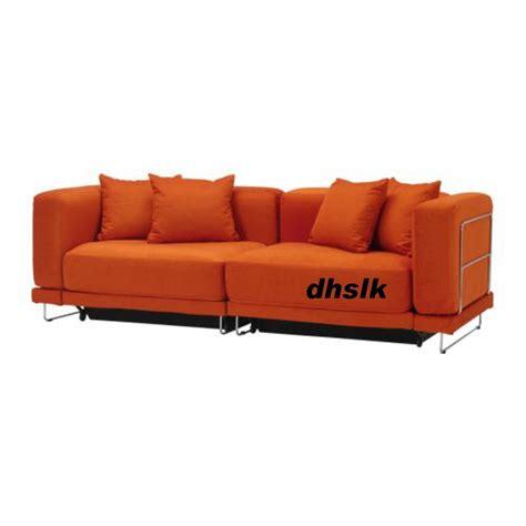 ikea tylosand sofa bed cover everod orange tyl 214 sand