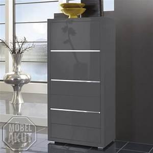 Kommode Grau Hochglanz : kommode luxor schrank grau hochglanz lackiert neu ebay ~ Markanthonyermac.com Haus und Dekorationen
