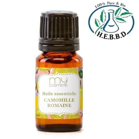 huile essentielle de camomille romaine propri 233 t 233 s et