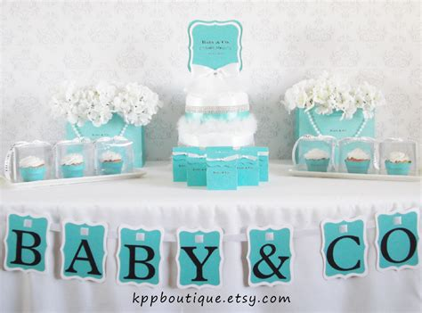 Tiffany & Co Inspired Baby Shower  Baby Shower Ideas