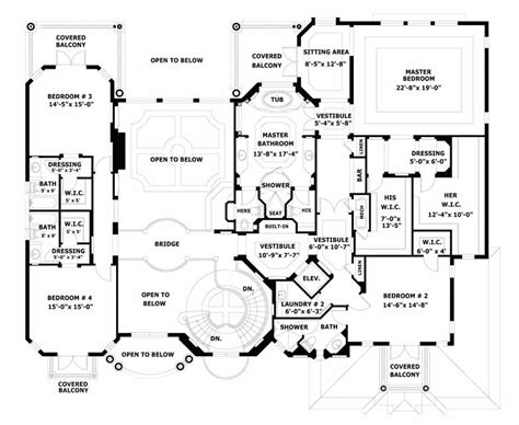 smart placement bedroom house plans luxury ideas smart placement luxury homes floor plan ideas house