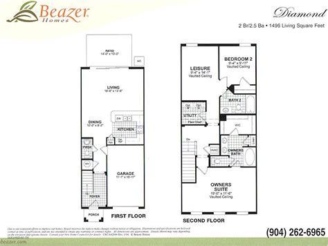 beazer home floor plans house plans