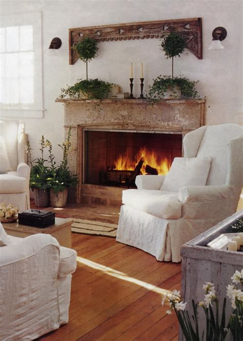 country living room ideas with fireplace interior design cottage country shabby chic on