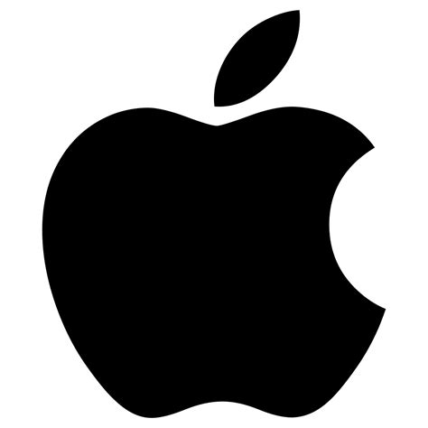Fileapple Logo Blacksvg  Wikimedia Commons