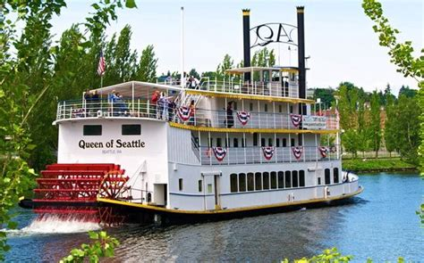 Romantic Houseboat Rental Seattle Washington by Queen Of Seattle Paddle Wheel Cruises Wa 2017 Reviews
