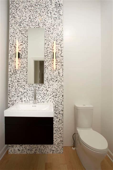 small bathrooms big design impact modern powder room
