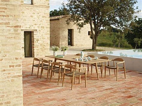 dansk outdoor teak dining setting by gloster http www