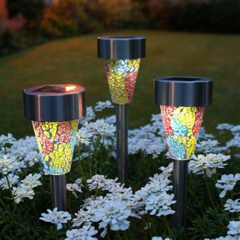 outdoor solar lights solar garden lights glass roselawnlutheran