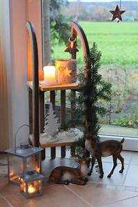 Haus Weihnachtlich Dekorieren : die besten 25 weihnachtsdeko hauseingang ideen auf pinterest holzdeko weihnachten deko ~ Markanthonyermac.com Haus und Dekorationen