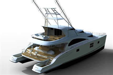 Used Power Catamaran Fishing Boats by 75 Sunreef Power Sportfish Sunreef Yachts