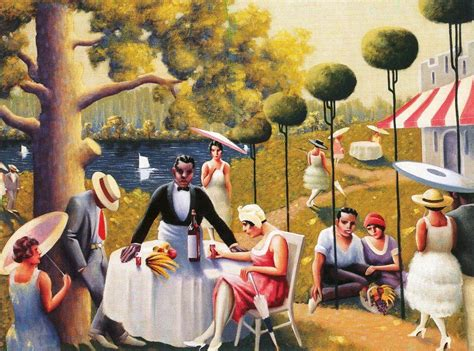 Luncheon Of The Boating Party Time Period by Us History American Renaissance Painting Quot Lawn Party Quot