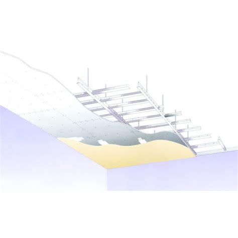 ossature pour plafond suspendu en plaques de pl 226 tre knauf amf