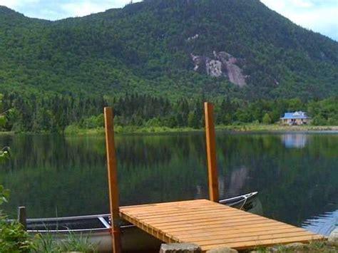superbe chalet bord de lac priv 233 224 40 minutes de qu 233 bec est canadien 1351240 abritel