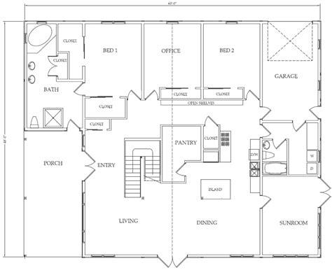 pole building house floor plans howard s barn kits western classic sle interior