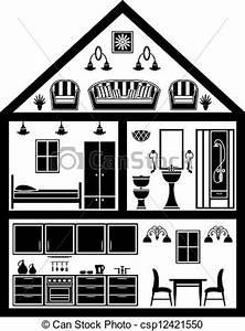 Icon Haus Preise : haus planung ikone haus planung schwarz white ikone clipart vektor suche illustration ~ Markanthonyermac.com Haus und Dekorationen