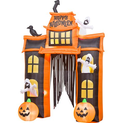 Halloween Inflatable Arch by 10 Tall Airblown Halloween Inflatable Haunted House And