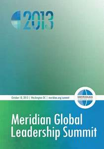 Meridian Global Leadership Summit 2013 | Meridian ...