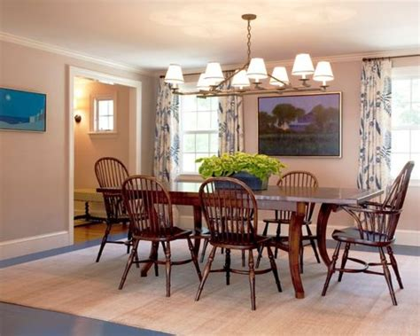 Casual Dining Room Curtains Home Design Ideas, Pictures