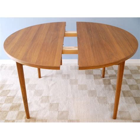 table 224 manger ronde teck la maison retro