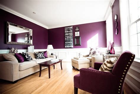 Deep Purple And White Living Room Gray Floor Tile Bathroom Painted Tiling Ideas Better Homes And Gardens Green Decorating Moen Fixtures Lowes Tiles Shower Curtain