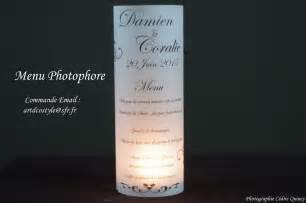 menu de mariage photophore mercuryteam
