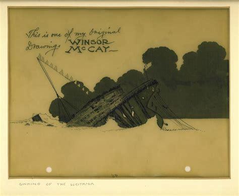 animation cel of the lusitania animation