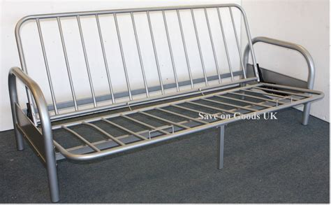 sofa bed steel metal futon sofabed frame silver sofa bed futon