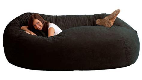 bean bag chair black fuf chair 4 foot uk