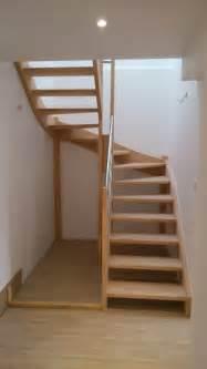 pose d un escalier quart tournant obasinc