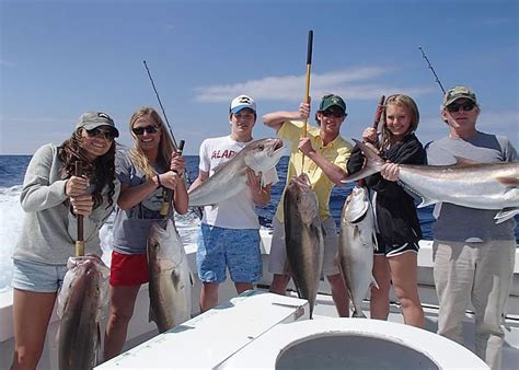 Party Boat Fishing Destin by Deep Sea Fishing Destin Florida Charter Boat Huntress