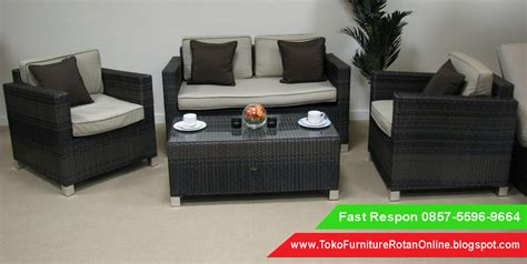 Sofa Rotan Ruang Tamu, Jual Kursi Sofa Rotan, Harga Kursi