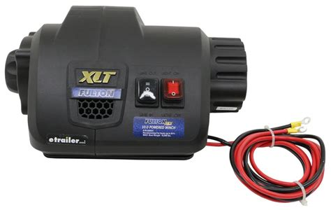 Fulton Xlt Electric Boat Trailer Winch by Fulton Xlt Powered Winch With Rugged Strap 10 000 Lbs