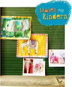 Malen Mit Kindern : malen mit kindern bunte elefanten doro kaiser grafik illustration ~ Markanthonyermac.com Haus und Dekorationen